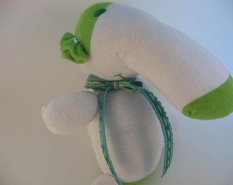 Emile - baby safe sock elephant