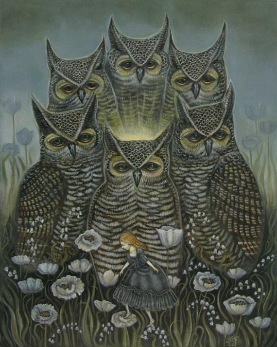 Light of the Owls - Print