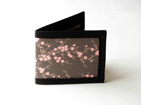 Cherry Blossoms Billfold Wallet