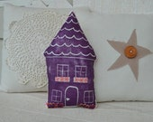 Purple house ... large size made to order