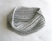 knit COWL infinity scarf