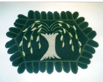 Weeping Willow Penny Rug