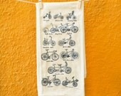 SALE - Cycles of Life flour sack dish towel