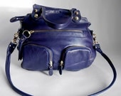 5 pocket Shikotsu bag in deep blue