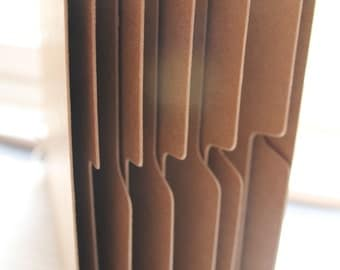 8 x 8 Square Bare Chipboard Album 2 covers 10 tabbed pages 12 pgs total [choose with or without holes/rings]