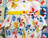 Butterfly Romper 12 Months - lishyloo