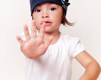Kids blue hat soft and comfy hat lightweight fashion children hat girl cloche flapper stylish handmade hat cozy cap cotton handmade hat