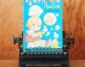 Vintage Paper Doll Book - Kewpie Kin - Unused / Uncut