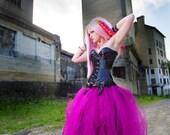 Fuchsia Pink Formal Alternative Wedding Skirt adult All Sizes MTCoffinz