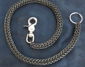 CUSTOM: Wallet Chain - Titanium and Steel BLACK Full Persian
