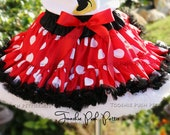11-12 inch in length SKIRT ONLY Boutique Girl Miss Mouse Inspired Pettiskirt