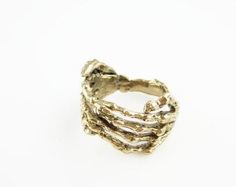 Rabid Fox Gold Reaper Ring