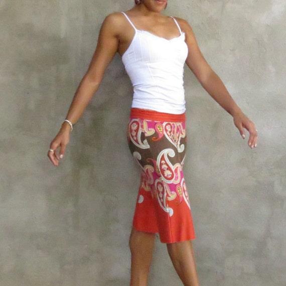 Paisley Gaucho Yoga Pants- XS/S