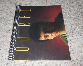 "Lou Reed ""Growing Up in Public"" Original Record Album Cover Notebook"