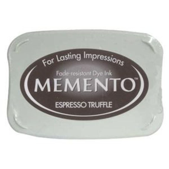 Espresso Truffle Brown Ink pad for rubber stamps --9114