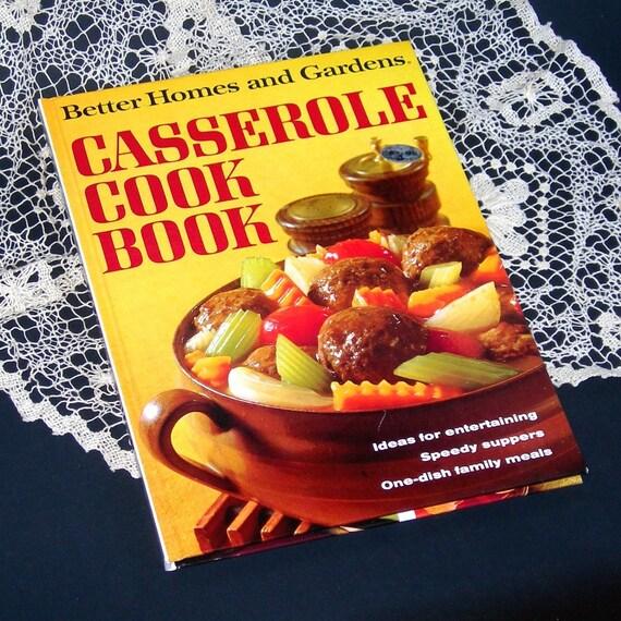 Casserole Cookbook Vintage 1968 Better Home By Atticdustantiques