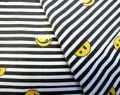 Cotton Fabric - Mr Lickey Face  - One Pillowcase