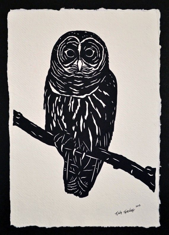 Sale 20% Off // OWL Papercut - Hand-Cut Silhouette // Coupon Code SALE20
