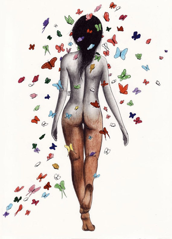 Sophia METAMORPHOSIS print