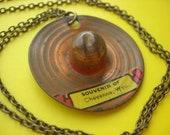 Souvenir Hat Necklace
