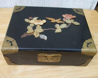 Black Jewelry Box, made in China