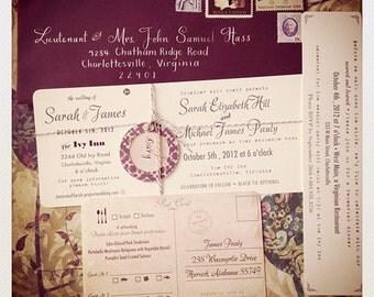 Custom invitations - wedding, baby, birthday, etc.