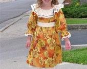 RTS- Girls Bohemian Fall Dress and  Pants set-- girls sizes 6-12mon, 12-18m, 2T,3T, 4T, 5  6 and 7