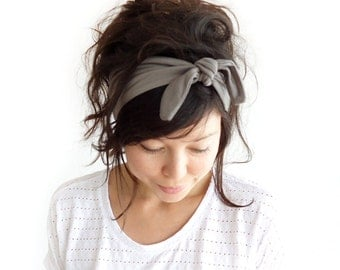 Tie Up Headscarf Fawn