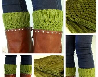 PDF Pattern - Crochet Boot Cuffs -