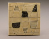 SALE Barcelona Leaf- 4x4 tile-Ruchika Madan