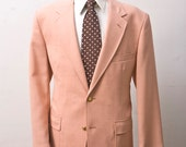 RESERVED for PETE // Size 42L Preppy Vintage Summer Sport Coat