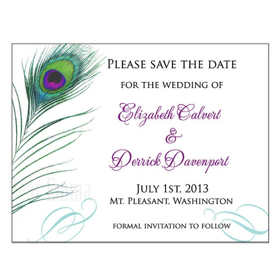 how to write a save the date notice for events