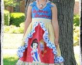 SnowWhite Custom Dress Applique