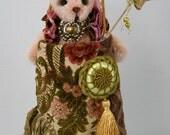 Miss Anabel OOAK Artist Mohair Woodland Rabbit by Dolls N Dreams