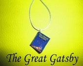 The Great Gatsby Miniature Book Pendant
