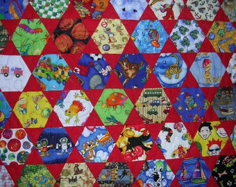 I Spy Baby Quilt--Free Shipping