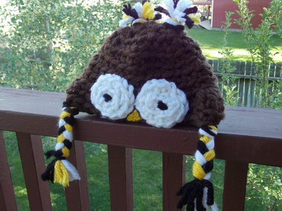 Toddler Owl Hoot Hoot Hat