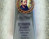 St. Francis of Assisi, Patron Saint of Animals and Pets, Prayer Candle
