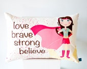 Superhero Girl Cushion