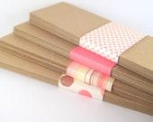 Kraft Paper Bookmarks (100) - DIY