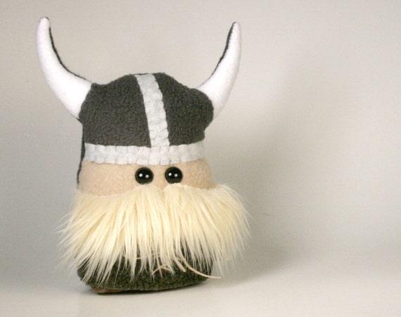 Little Stuffed Viking Warrior Mini Plush Friend - READY TO SHIP