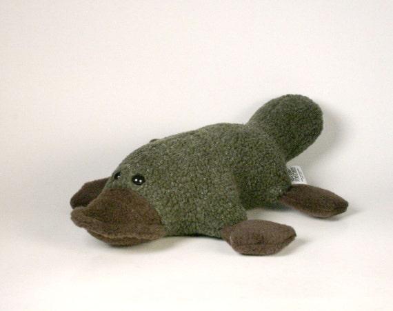 Stuffed Platypus Plush
