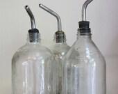 Vintage bottles with spouts