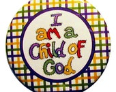 "magnet ""I am a Child of God"