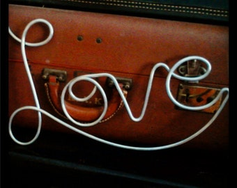 Love Sign Wedding Decoration Home Decoration Metal Wire