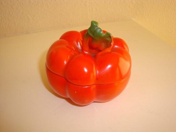 Royal Bayreuth Tomato Sugar Bowl