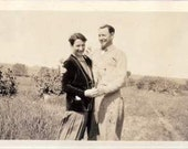 1950's Couples Photograph, Man  & Women, Dancing, Retro photo Texan classic 50's nostalgia Galveston,, Prom Night