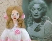 Bette Davis Doll Miniature Art Character