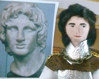 Art Doll Alexander the Great Historical Miniature