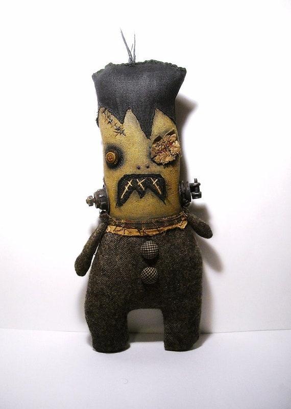 RESERVED for Roxanne( Monster Frankenstein Creature)